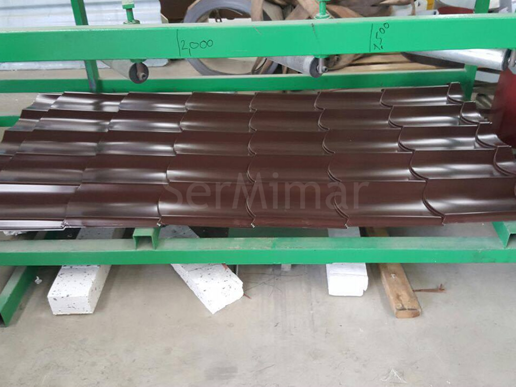 sermimar metal panel kiremit